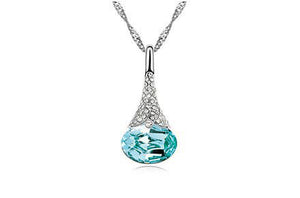 Crystal Water Drop Pendant