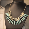 Bohemian Tassels Fringe Drop Statement Necklace - Florence Scovel - 4