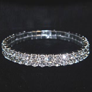Two Row Crystal Bracelet - Florence Scovel - 2