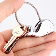 Whale Key Ring For Lovers With Free Gift Box - Florence Scovel - 2