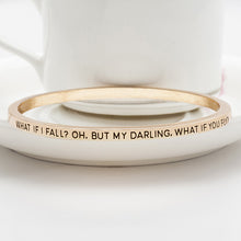 What If I Fall Bangle - Florence Scovel - 3