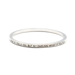 What If I Fall Bangle - Florence Scovel - 1