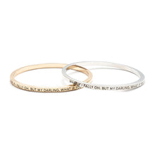 What If I Fall Bangle - Florence Scovel - 5