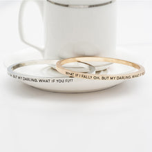 What If I Fall Bangle - Florence Scovel - 2