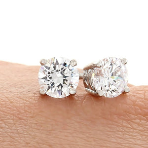 Crystal Stud Earrings - 4mm - Florence Scovel - 2