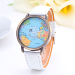 Denim World Map Watch - Florence Scovel - 5