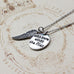 With Brave Wings She Flies Charm Pendant - Florence Scovel - 2
