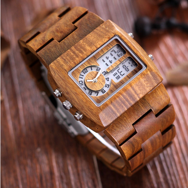 Luxury Sandalwood Analog Watch - Florence Scovel - 2