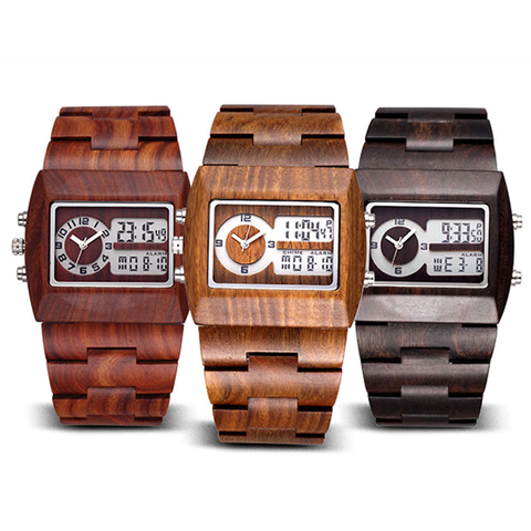 Luxury Sandalwood Analog Watch - Florence Scovel - 1