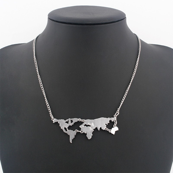 World Map Pendant - Florence Scovel - 2