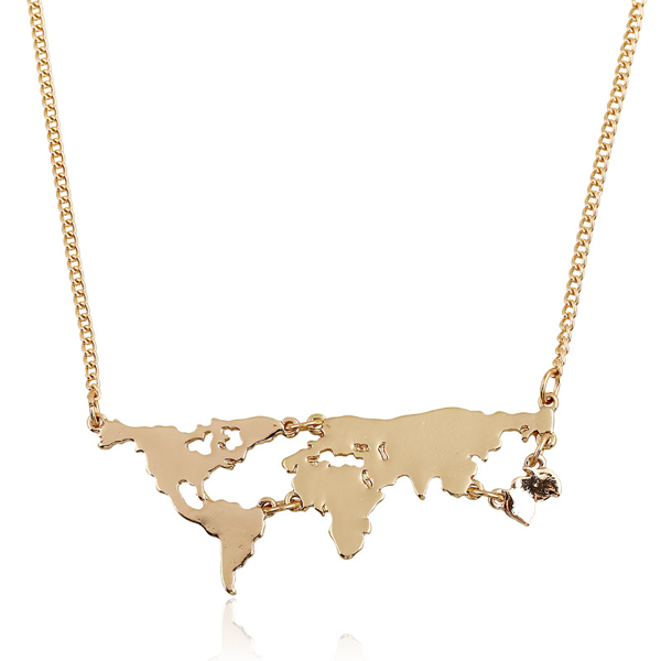 World Map Pendant - Florence Scovel - 1