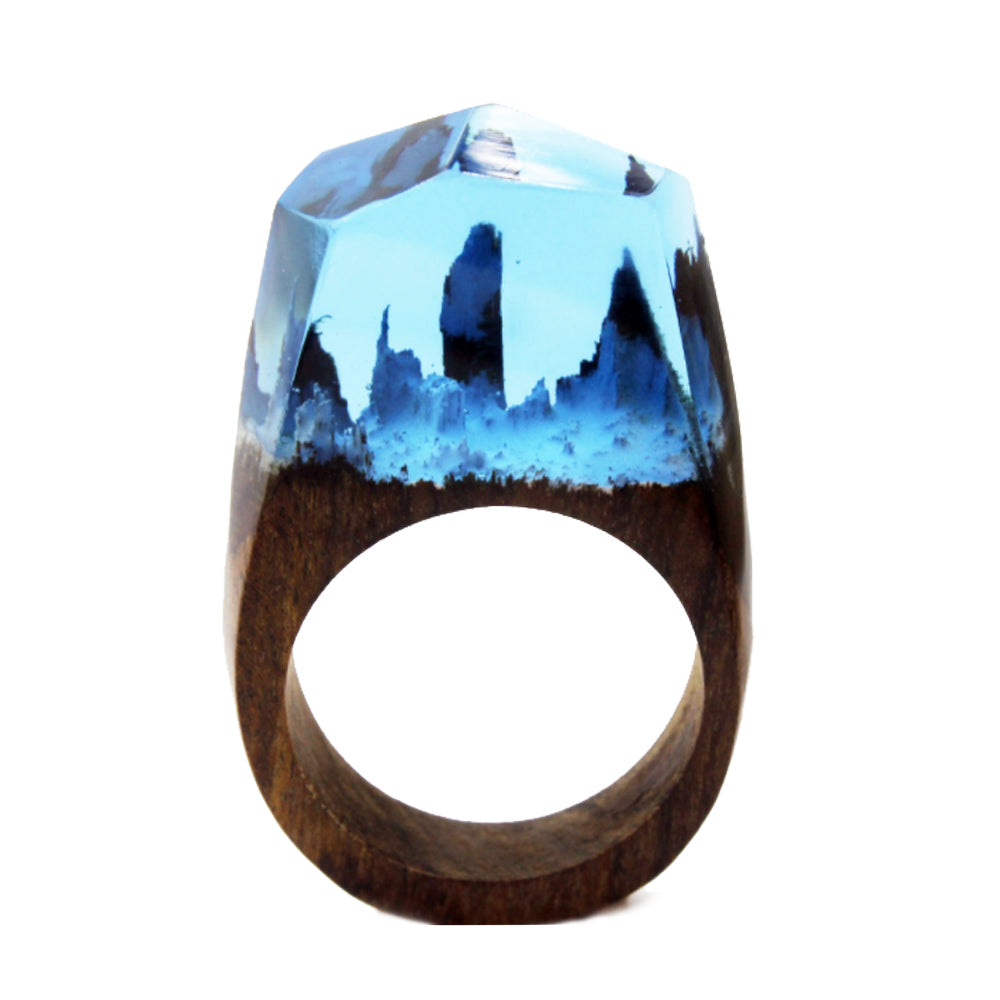 World of Nature Wood Ring