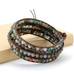 4MM  India Agate Stone Wrap Bracelet - Florence Scovel - 2