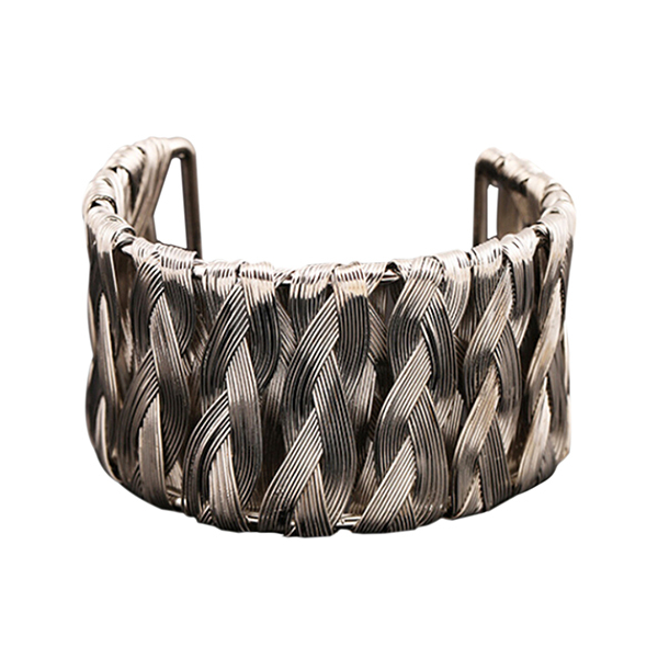 Silver Weave Bangle - Florence Scovel - 1
