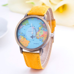 Denim World Map Watch - Florence Scovel - 6