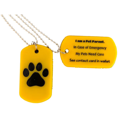 Dog Tag Alert Chain
