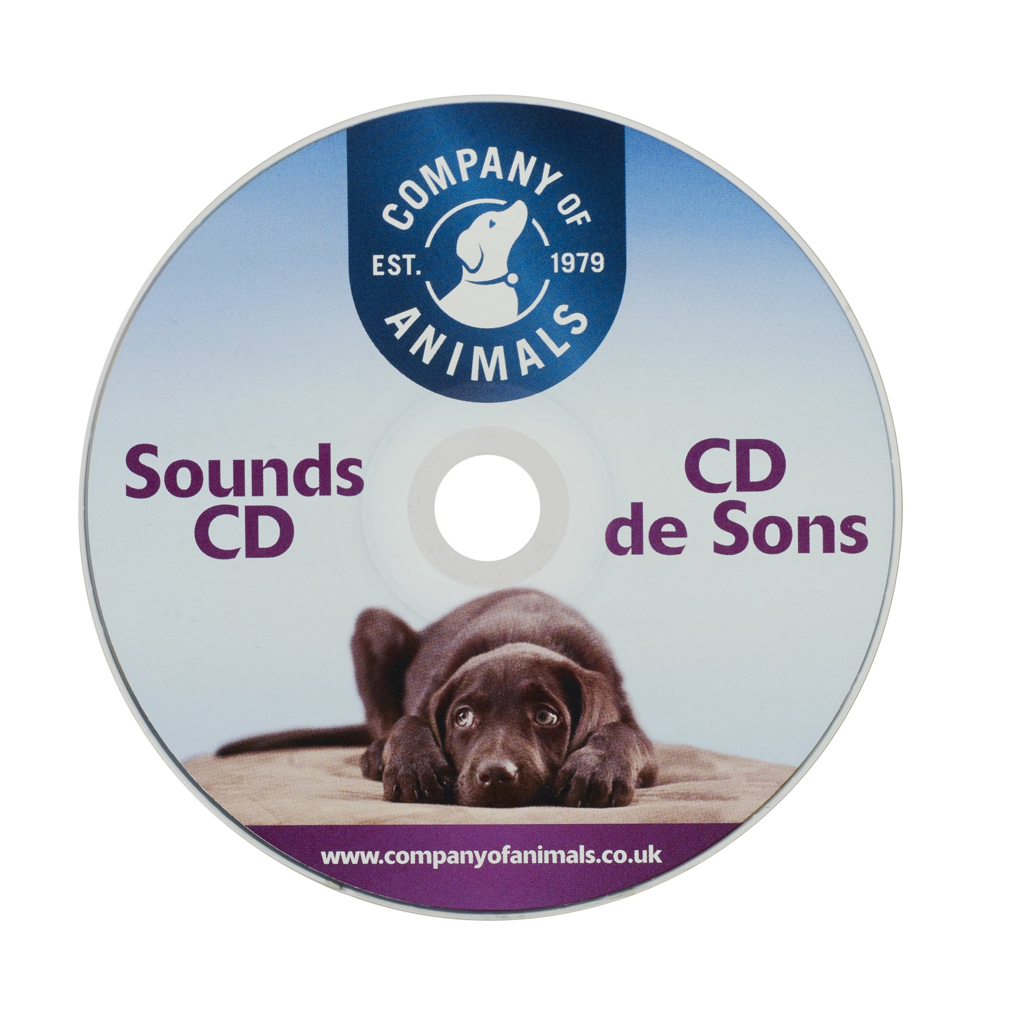 COA Noises & Sounds CD - Prevent Sound Phobias in Dogs - Training Aid
