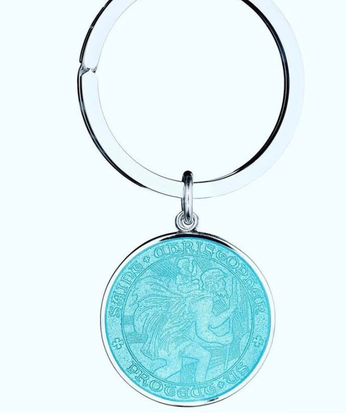 Holy Bauble St Christopher Key Chain