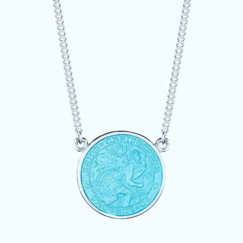 Holy Bauble St Christopher Necklace