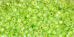 Transparent Lime Green Rainbow