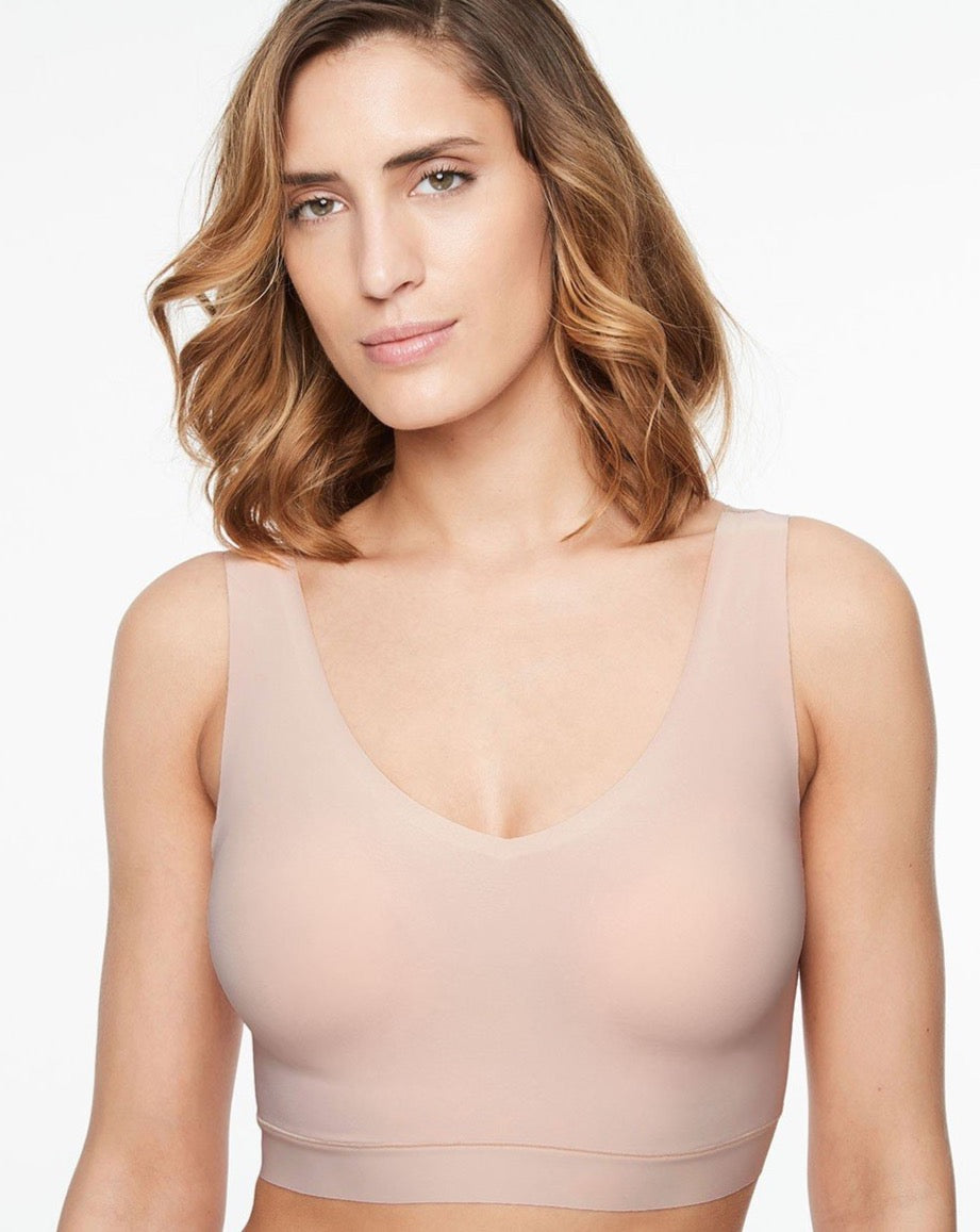 Soft Stretch V-Neck Bra