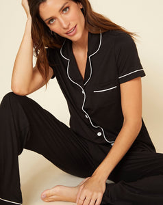 Bella Short Sleeve & Pant Pajama Set