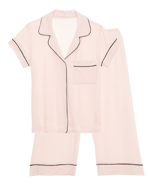 Gisele Crop Pajama Set