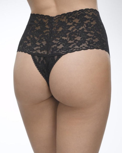 Retro Lace Thong