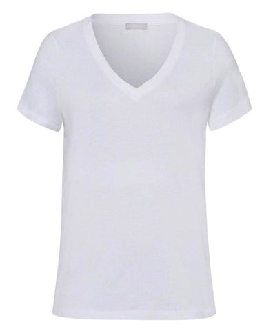 Sleep & Lounge Cotton Mix Short Sleeved Top