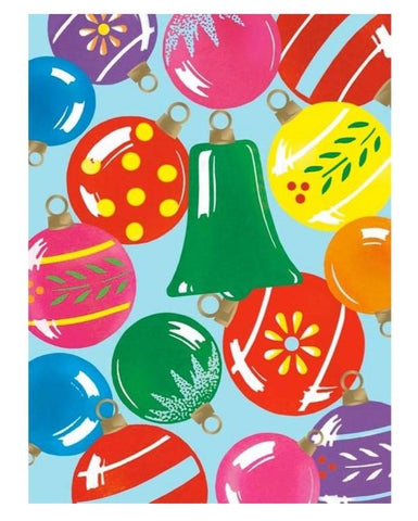 Greeting Card: Ornaments