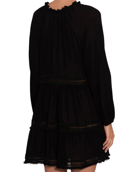 Summer Of Love Sofia Coverup Black