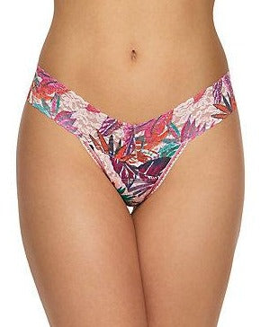 Petite Size Low Rise Rainforest Thong