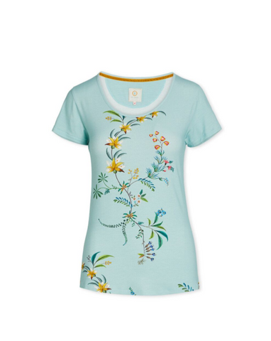 Grand Fleur Tilly Short Sleeve Blue