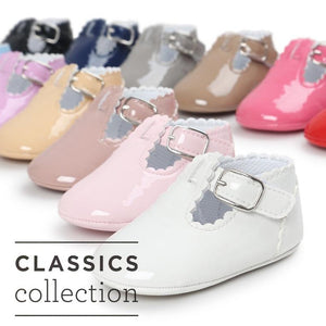 Classic Buckle Baby Shoes - Mamma & Child
