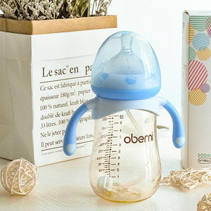 Baby Feeding Bottle with Silicon Pacifier - Mamma & Child