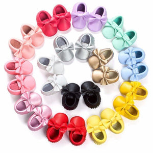Fashion Leather Baby Shoes - Mamma & Child