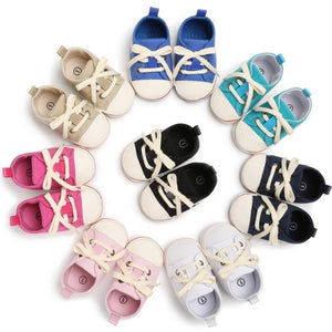 Canvas Baby Sneakers - Mamma & Child