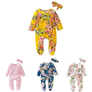 Floral Bodysuit Set - Mamma & Child