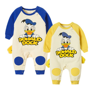 Infant Donald Duck & Bear Rompers - Mamma & Child