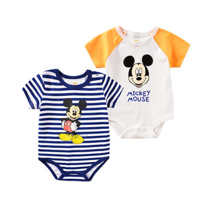 Disney Micky Mouse O-Neck Rompers for Infants - Mamma & Child