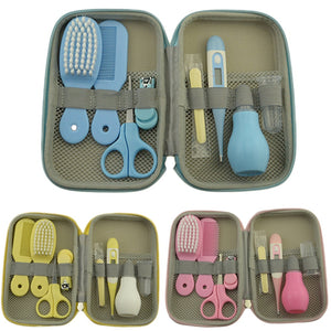 8Pcs/Set Portable Newborn Baby Grooming and Health Kit - Mamma & Child