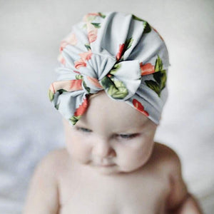 Floral Rabbit Ear Turban - Mamma & Child