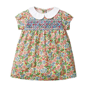 Cute Summer Embroidery Dress - Mamma & Child