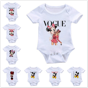 Newborn Mickey Baby Romper Baby Girl Clothes Boy Clothing Roupas Bebe Infant Jumpsuit Outfit Minnie Vogue Kid Christmas Playsuit - Mamma & Child