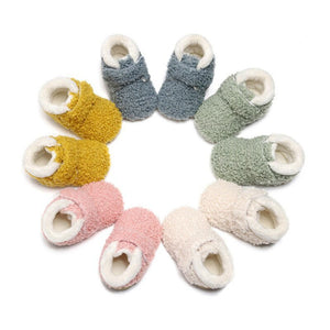 Infant Fur Walker Shoes - Mamma & Child