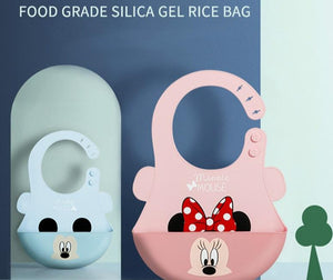 Disney Silicone Baby Meal Waterproof Bib - Mamma & Child