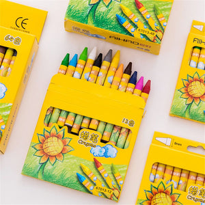 Non-Toxic Wax Crayon Art Supplies for Kids - Mamma & Child