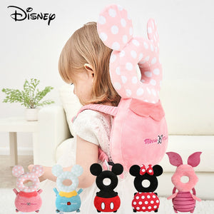 Disney Baby Head Back Protector Safety Pad Pillow Infant Toddler Harness Headgear Bear Rabbit Baby Head Protection Pad Cute New - Mamma & Child