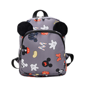 Disney minnie New Kindergarten Backpack Children's Bag Baby Boy Girl Cartoon school bag 2-6 y Shoulder Bag - Mamma & Child