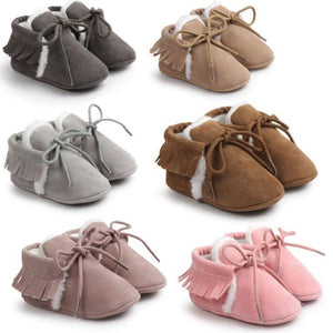 Fringe Baby Shoes - Mamma & Child